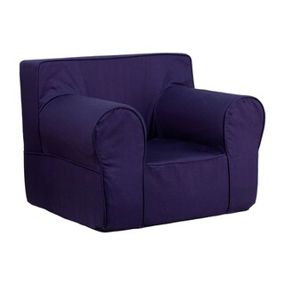 Offex Home Indoor Oversized Solid Kids Chair