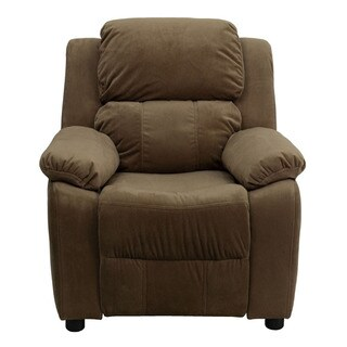 Offex Deluxe Heavily Padded Contemporary Microfiber Kids Recliner