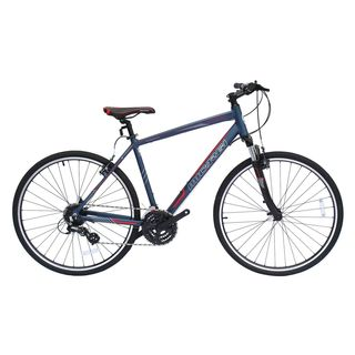 Micargi Cross 5.0 Blue Aluminum Hybrid Bicycle