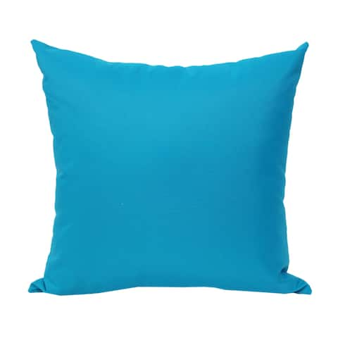 Blue Outdoor Throw Pillow from Home Accent Pillows