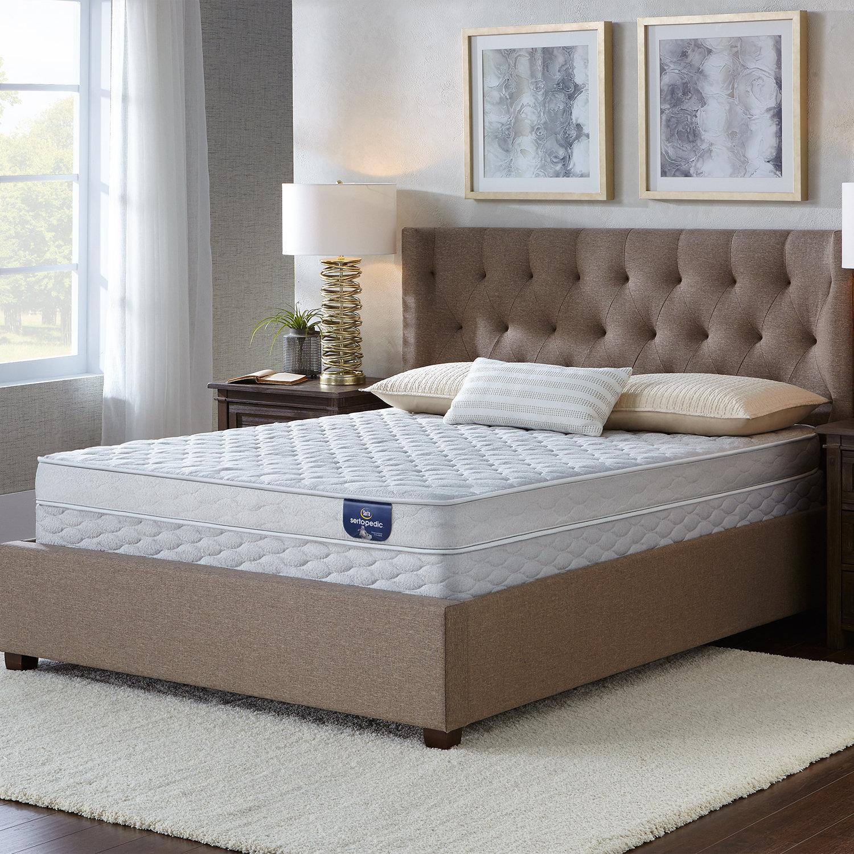 Serta Bluefield Firm Full-size Foam Mattress Set (Regular...