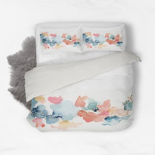 Oliver Gal Home 'Beautiful Sunrise' Queen Duvet Collection
