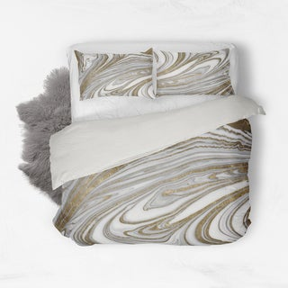 Oliver Gal Signature Collection 'Tuxedo Nights' Cotton Duvet Cover