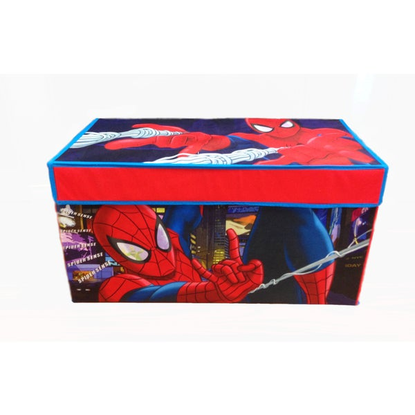 Spiderman Collapsible Storage Trunk   Free Shipping On Orders Over $45    Overstock.com   21745447