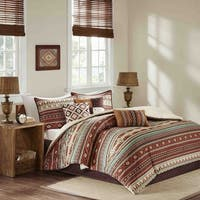 Madison Park Davy Spice 7-piece Queen Size Comforter Set (As Is Item)