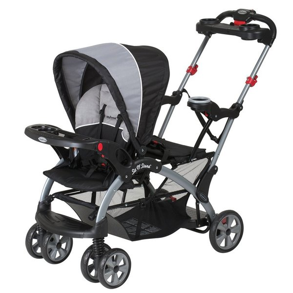 Baby Trend Sit N Stand Ultra Double Stroller, Phantom