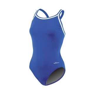 Dolfin Solid Royal Female DBX Back Swimsuit