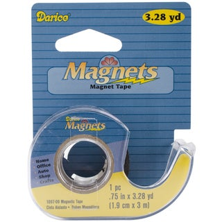 "Adhesive Magnetic Tape Dispenser-.75""X.28yd"