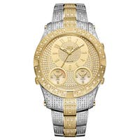 JBW Men's Jet Setter III 2-Tone Stainless Steel Diamond Watch - Two-Tone