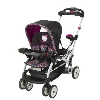 Baby Trend Sit N Stand Ultra Double Stroller, Hello Kitty Pinwheel