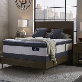 Serta Perfect Sleeper Brightmore Super Pillow Top Queen Mattress and Box Spring Set