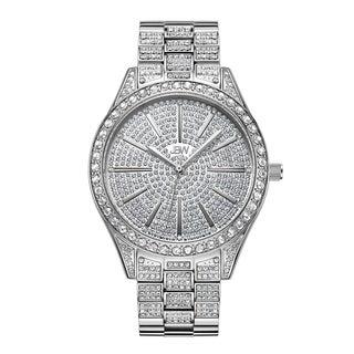 JBW Women's Cristal J6346C Stainless Steel Diamond Watch