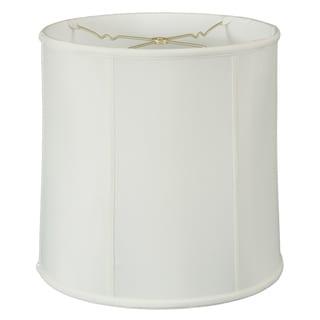 Royal Designs Basic Drum Lamp Shade, White, 10 x 11 x 10, BS-719-11WH