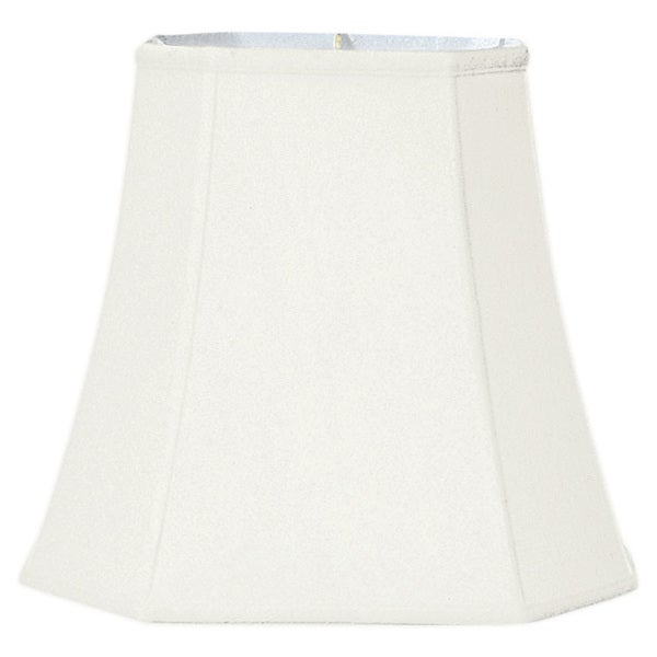 Royal Designs White 10- x 16- x 14-inch Square-cut Corner Basic Lampshade