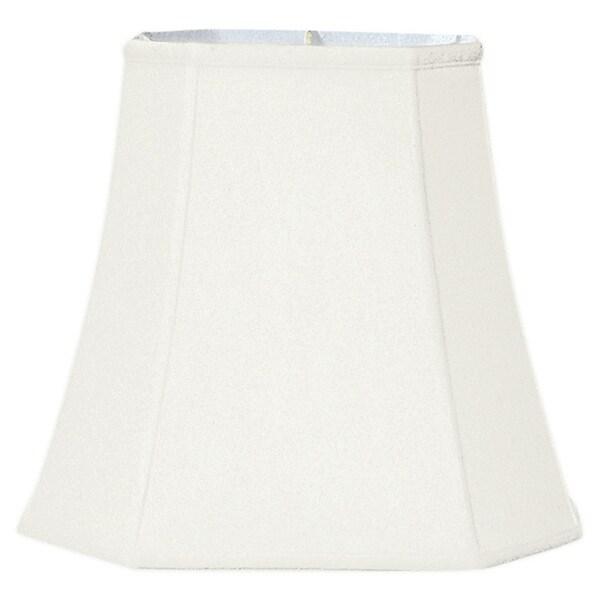 Royal Designs White Fabric Square Cut-corner Lampshade