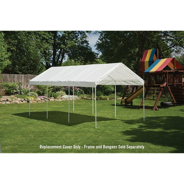ShelterLogic 10x20 Canopy Replacement Cover - Free Shipping Today - Overstock.com - 21745493  sc 1 st  Overstock & ShelterLogic 10x20 Canopy Replacement Cover - Free Shipping Today ...
