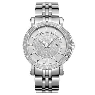 JBW Men's Vault Stainless Steel Diamond Watch
