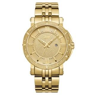 JBW Men's Vault J6343A 18K Gold-plated Stainless Steel Diamond Watch