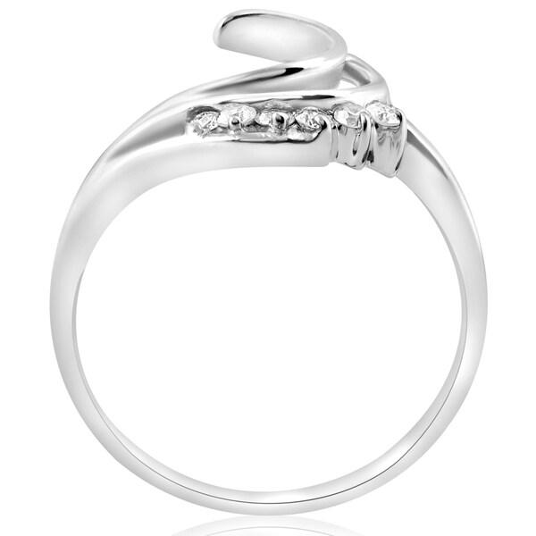 Size-9.75 G-H,I2-I3 1//6 cttw, Diamond Wedding Band in 10K White Gold
