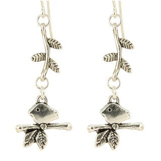 Bird on a Vine Earrings