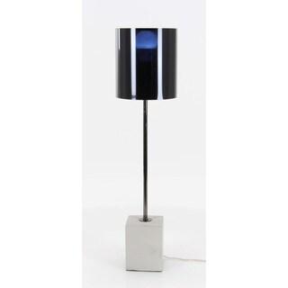 Benzara Metal/Cement Table Lamp