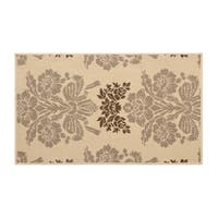 Laura Ashley Tatton Taupe Indoor/Outdoor Rug -