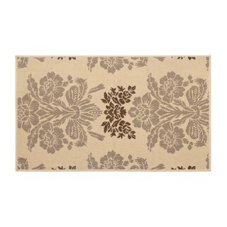 Laura Ashley Tatton Taupe Indoor/Outdoor Rug - 8' x 11'