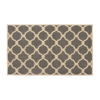 Laura Ashley Arietta Gray Indoor/Outdoor Accent Rug - 8' x 11'