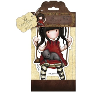 Santoro Large Rubber Stamps-Ruby