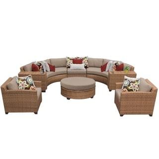 Laguna 8 Piece Outdoor Wicker Patio Furniture Set 08e