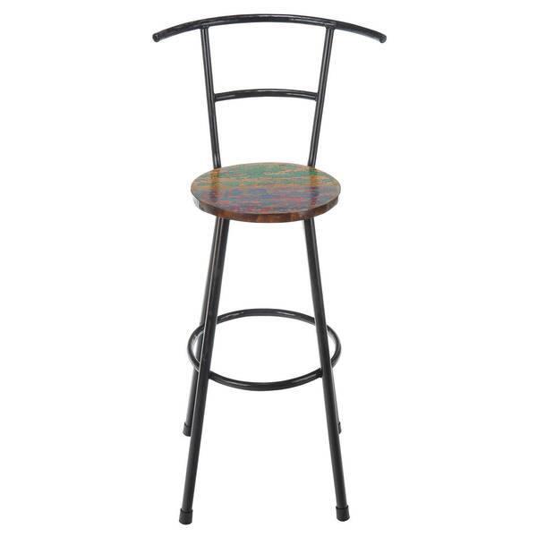 Fine Shop Handmade Reclaimed Boat Wood And Iron Bar Stool Bali Ncnpc Chair Design For Home Ncnpcorg