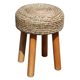 Handmade D-Art Island Woven Round Stool (Indonesia)