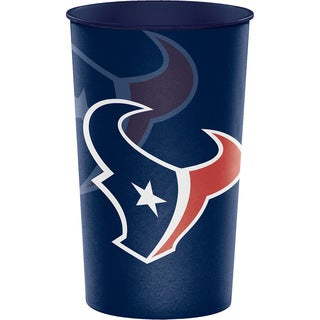 Houston Texans 22 oz Plastic Souvenir Cups, Case of 20