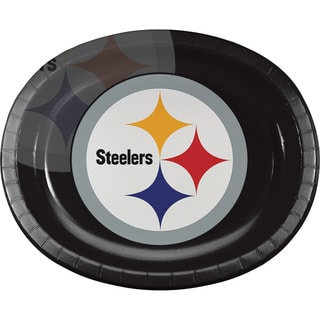 Pittsburgh Steelers Oval Platters, Case of 96