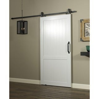 Millbrooke Barn PVC And Metal 42 Inch H Style Sliding Door
