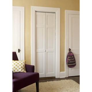#300 Raised Panel Bifold Door Clear Joints
