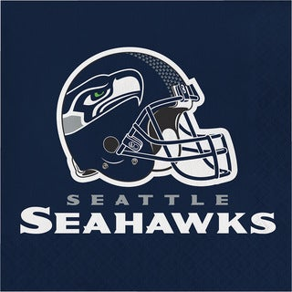 Seattle Seahawks Luncheon Napkins, Case of 192