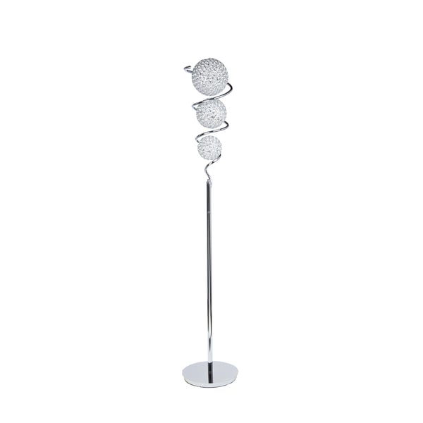 Crsystal Spheres 3-Dome Floor Lamp