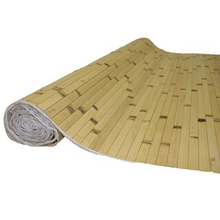 BAMBOO PANELS 4FT H x 8FT L NATURAL RAW BURNT