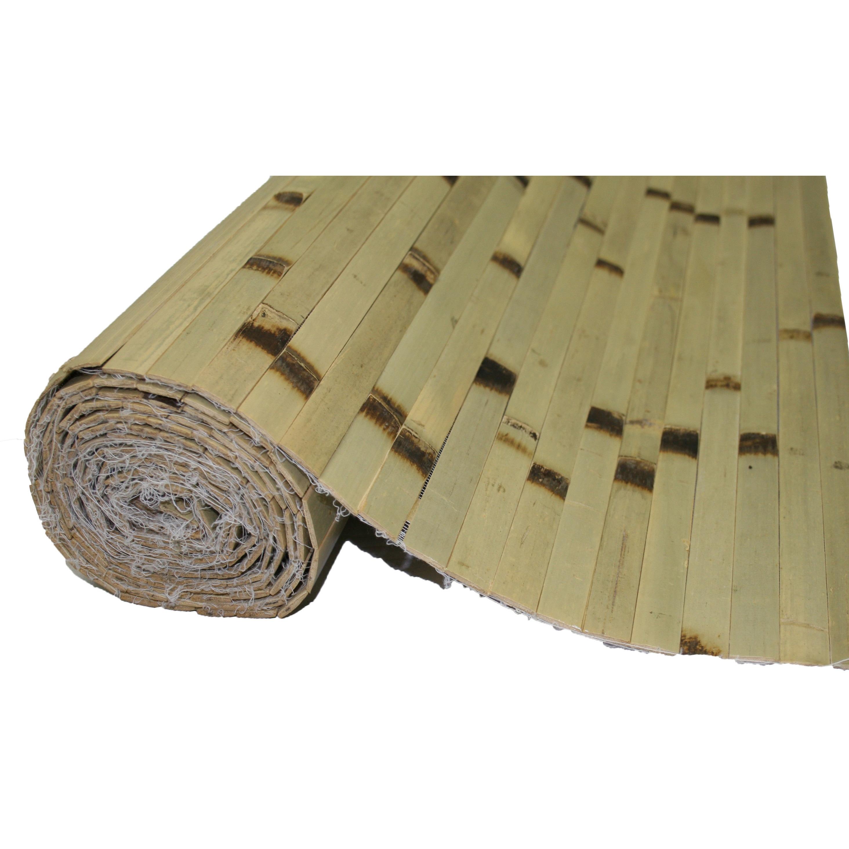 Bamboo Panels 4FT H x 8FT L RAW Green Burnt (Raw Greent B...