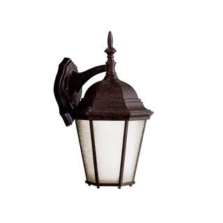 Kichler Lighting Madison Collection 1-light Tannery Bronze Outdoor Fluorescent Wall Lantern
