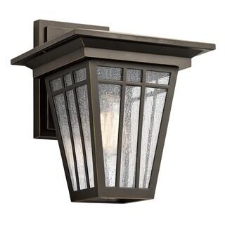 Kichler Lighting Woodhollow Lane Collection 1-light Olde Bronze Outdoor Wall Lantern