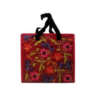 "C&T Euphoria Tapestry Eco Tote Bag 15.5x15x8"""