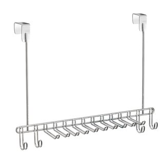 InterDesign Classico Over-the-Door Tie and Belt Rack