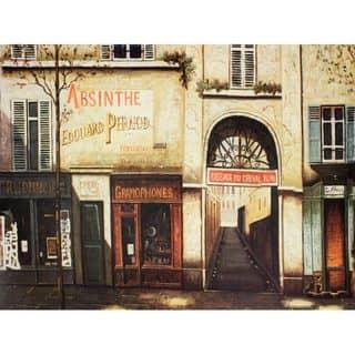 Parisian Marketplace Wall Art - Beige