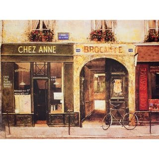 Parisian Cafe Wall Art