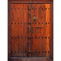 Venetian Doorway Wall Art - Brown