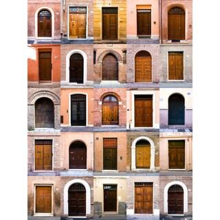 Doors of Old Europe Wall Art - Multi