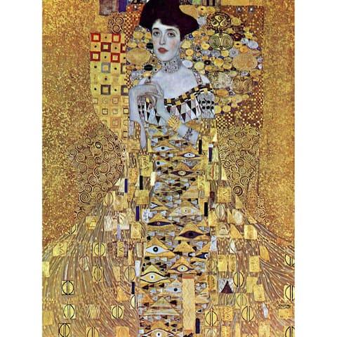 Handmade Klimt The Woman in Gold Wall Art