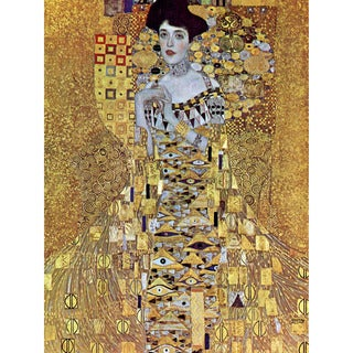 The Woman in Gold by Klimt Wall Art